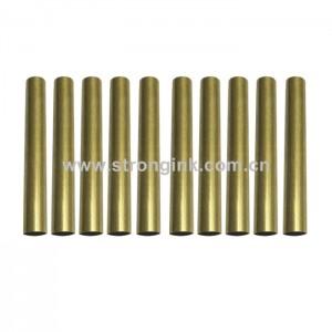 10 Pack Brass Tube Replacement for #PKSL-1 Slimline Pen Kits