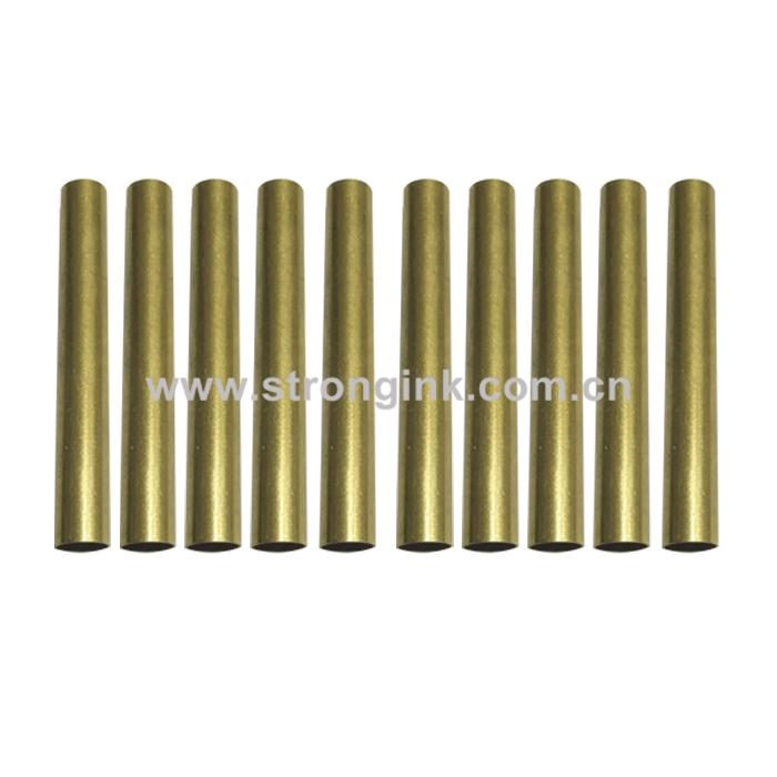 10 Pack Brass Tube Replacement for #PKSL-2 Slimline Pen Kits