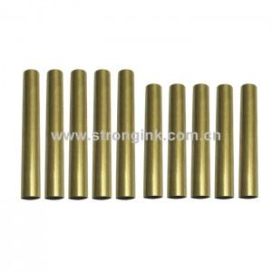 PKTU-M1 Brass Pen Tube Replacement for Pen Kit PKM-1(5 Sets)