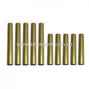 PKTU-M3 Brass Pen Tube Replacement for Pen Kit PKM-3(5 Sets)