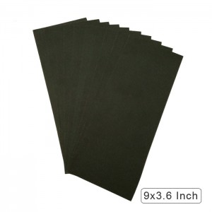 """10 Pack 9""""x3.6""""Wet&Dry Silicon Carbide Waterproof Abrasive Sandpaper"""