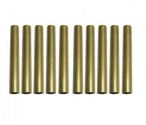 10 Pack Brass Tube Replacement for PKSL-1/ PKSL-3/ PKSL-4/ PKSL-5/ PKSL-6/PKST-1/PKST-3/ PKST-4/ PKST-5/ PKST-6 series Pen Kits