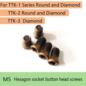 Screws Replacement For turning tool kit TTK-1 Round and Diamond TTK-2 Round and Diamond TTK-3 Diamond