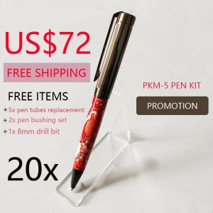 Promotion 20 Pieces PKM-5 Pen Kits US$72 FREE SHIPPING