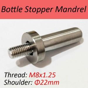 SUS304 Mandrel for Bottle Stopper Kit-M8x1.25 Thread